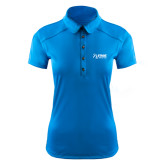 Ladies Ogio Sapphire Blue Pleated Back Polo-Kidney Care