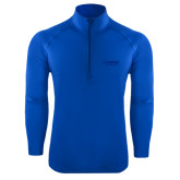 Sport Wick Stretch Royal 1/2 Zip Pullover-Kidney Care