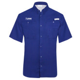 Columbia Tamiami Performance Royal Short Sleeve Shirt-Kidney Care