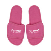 Hot Pink Waffle Slippers-Kidney Care
