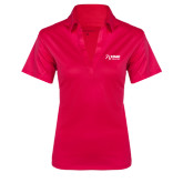 Ladies Pink Raspberry Silk Touch Performance Polo-Kidney Care