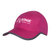 Pink/Charcoal Trail Blaze Cap-Kidney Care