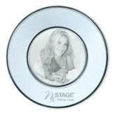 Silver Two Tone Big Round Photo Frame-Kidney Care Engraved