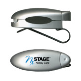 Silver Bullet Clip Sunglass Holder-Kidney Care