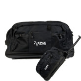 Urban Passage Wheeled Black Duffel-Kidney Care