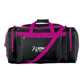 Black With Pink Gear Bag-Kidney Care