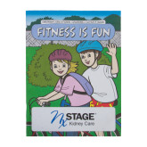 Fitness Is Fun Coloring & Activity Book-