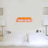 6 in x 2 ft Fan WallSkinz-Thunderbirds Word Mark
