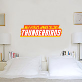 1 ft x 3 ft Fan WallSkinz-Thunderbirds Word Mark