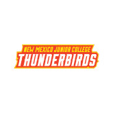 Medium Decal-Thunderbirds Word Mark, 8 inches wide