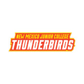 Large Decal-Thunderbirds Word Mark, 12 inches wide