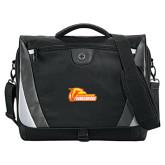 Slope Black/Grey Compu Messenger Bag-Primary Logo