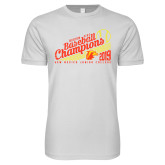 Next Level SoftStyle White T Shirt-2019 Baseball Champions