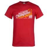Red T Shirt-2019 Baseball Champions