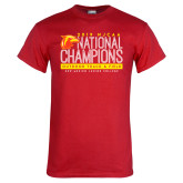 Red T Shirt-2019 NJCAA National Outdoor Track and Field Champions