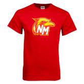 Red T Shirt-NM Head Logo