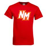Red T Shirt-NM Lettermark