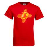 Red T Shirt-Thunderbirds Zia Logo
