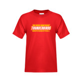 Youth Red T Shirt-Mens Basketball