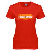 Ladies Red T Shirt-Rodeo