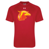 Under Armour Red Tech Tee-Thunderbird Head