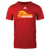 Adidas Red Logo T Shirt-Primary Logo
