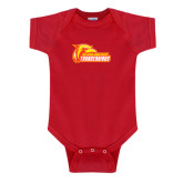 Red Infant Onesie-Primary Logo