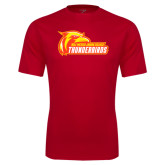 Performance Red Tee-Primary Logo