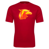 Performance Red Tee-Thunderbird Head