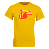 Gold T Shirt-Thunderbird Head