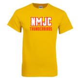 Gold T Shirt-NMJC Thunderbirds Lettermark