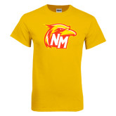 Gold T Shirt-NM Head Logo