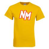 Gold T Shirt-NM Lettermark