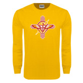 Gold Long Sleeve T Shirt-T-Bird
