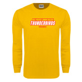 Gold Long Sleeve T Shirt-Rodeo