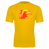 Performance Gold Tee-Thunderbird Head