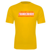 Performance Gold Tee-Womens Basketball