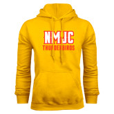 Gold Fleece Hoodie-NMJC Thunderbirds Lettermark