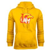 Gold Fleece Hoodie-NM Head Logo