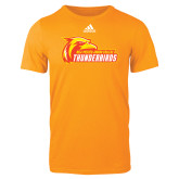 Adidas Gold Logo T Shirt-Primary Logo