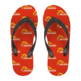 Full Color Flip Flops-Primary Logo