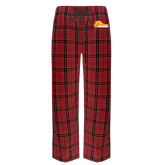 Red/Black Flannel Pajama Pant-Primary Logo