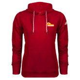 Adidas Climawarm Red Team Issue Hoodie-Primary Logo