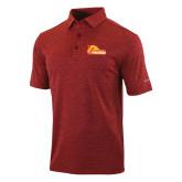 Columbia Red Omni Wick Sunday Golf Polo-Primary Logo