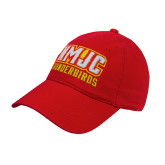 Red Twill Unstructured Low Profile Hat-NMJC Thunderbirds Lettermark