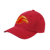 Red OttoFlex Unstructured Low Profile Hat-Thunderbird Head