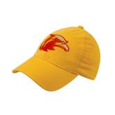 Gold Flexfit Mid Profile Hat-Thunderbird Head