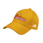 Adidas Gold Structured Adjustable Hat-Primary Logo