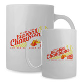 Full Color White Mug 15oz-2019 Baseball Champions