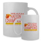 Full Color White Mug 15oz-2019 NJCAA National Outdoor Track and Field Champions